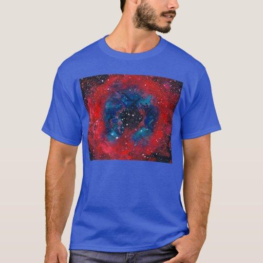 The Rosette Nebula t-shirt