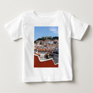 The Rossio and the Hill of the Castle, Lisbon, Baby T-Shirt
