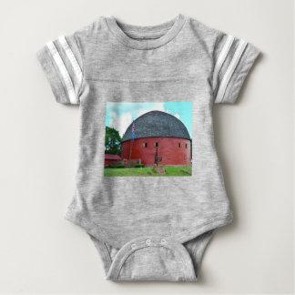 The Round Barn of Arcadia Baby Bodysuit
