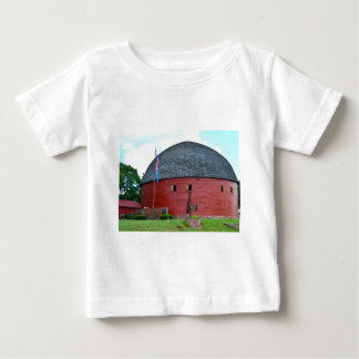 The Round Barn of Arcadia Baby T-Shirt