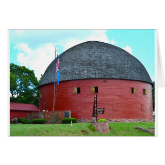 The Round Barn of Arcadia Card