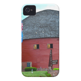 The Round Barn of Arcadia iPhone 4 Covers