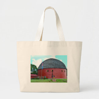 The Round Barn of Arcadia Large Tote Bag