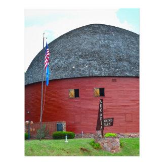 The Round Barn of Arcadia Letterhead