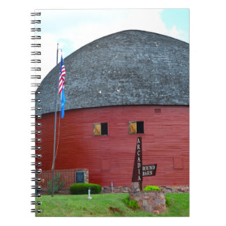 The Round Barn of Arcadia Notebook