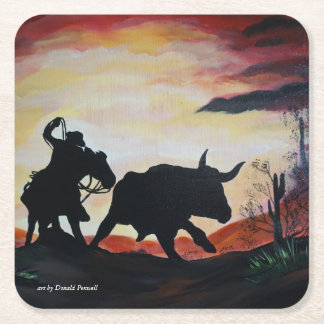 THE ROUND UP SQUARE PAPER COASTER