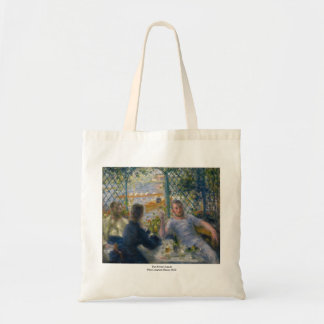 The Rower's Lunch by Pierre-Auguste Renoir Budget Tote Bag