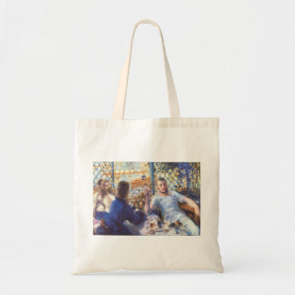 The Rowers Lunch by Pierre Renoir Budget Tote Bag