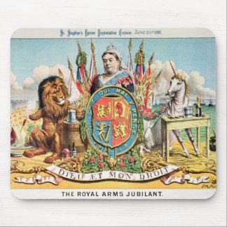 The Royal Arms Jubilant Mouse Pad
