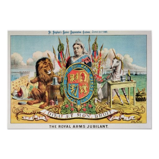 The Royal Arms Jubilant Posters