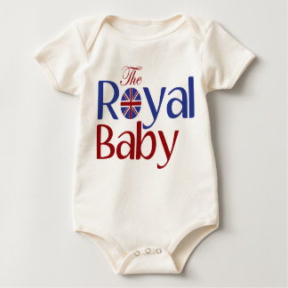 The Royal Baby Baby Bodysuit