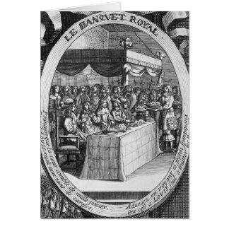 The Royal Banquet Card