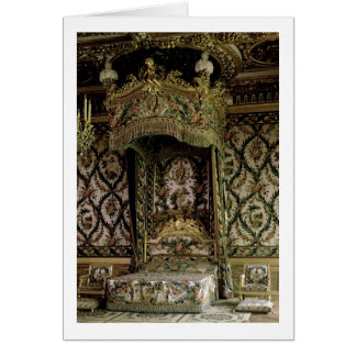 The Royal Bed, probably 18th century (photo) Cards