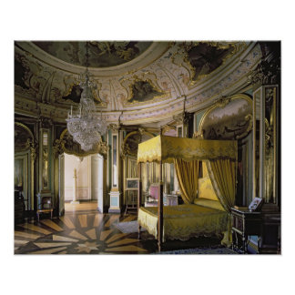 The Royal Bedroom in the Hall of Don Quixote Poster