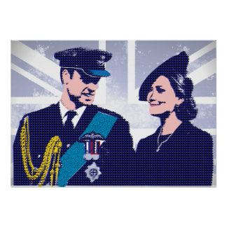 The Royal Couple Prince William and Kate | Poster