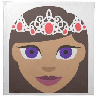 The Royal Families American Princess Emoji Napkin