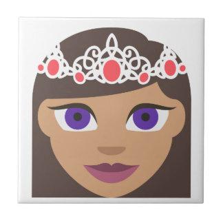 The Royal Families American Princess Emoji Tile