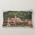 The Royal Hawaiian Hotel Lumbar Pillow