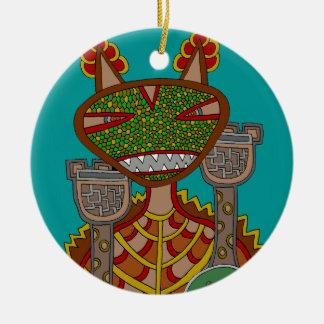 The Royal Kappa Ceramic Ornament