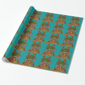 The Royal Kappa Wrapping Paper