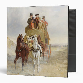 The Royal Mail Coach on the Road, 1841 (oil on pan Vinyl Binders