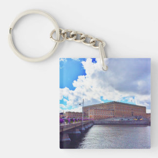The Royal Palace in Stockholm Keychain