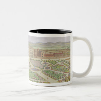 The Royal Palace of Hampton Court, from 'Survey of Two-Tone Coffee Mug