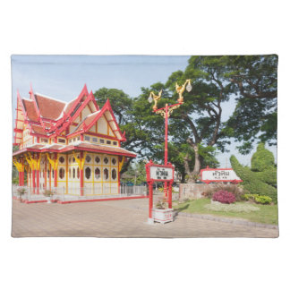 The Royal Pavilion,Hua Hin Railway Station Placemat