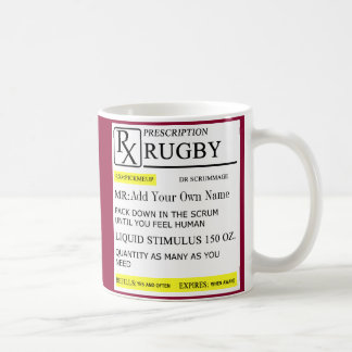 The Rugby Prescription Coffee Mug