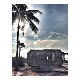 The Ruins in Bantayan Island Letterhead