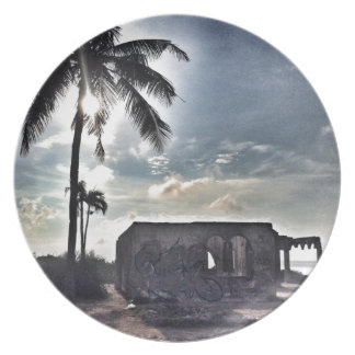 The Ruins in Bantayan Island Plate