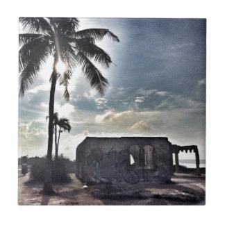 The Ruins in Bantayan Island Tile