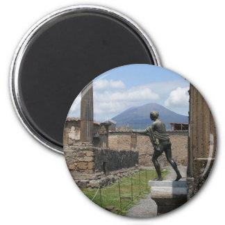 The Ruins of Pompeii Magnet