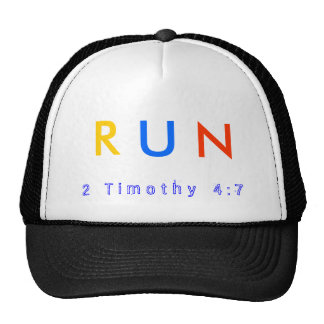 The RUN ballcap Trucker Hat