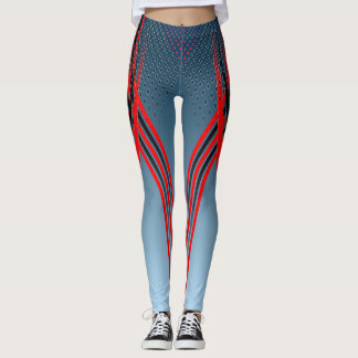 The Runner - Red Leggings