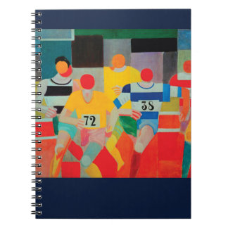 The Runners by Robert Delaunay Notebook