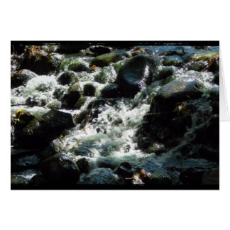 The Rushing River Card
