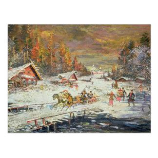 The Russian Winter, 1900-10 Postcard