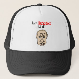 The Russians did it Putin Cartoon Trucker Hat