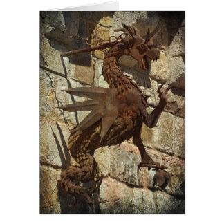 The Rusty Dragon Card