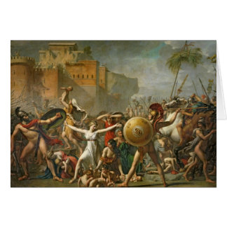 The Sabine Women, 1799 Card