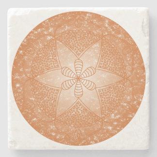 The Sacral Chakra Stone Coaster
