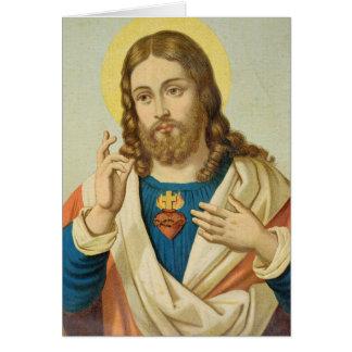 The Sacred Heart Card