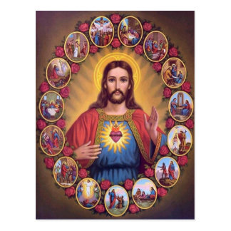 The Sacred Heart Of Jesus Postcard
