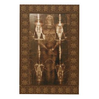 The Sacred Shroud of Turin Wood Wall Decor