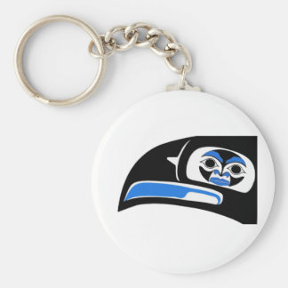 THE SACRED VISION BASIC ROUND BUTTON KEYCHAIN