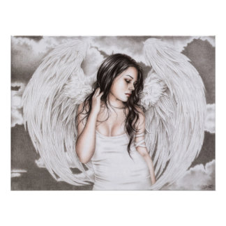 The Sad Angel Poster