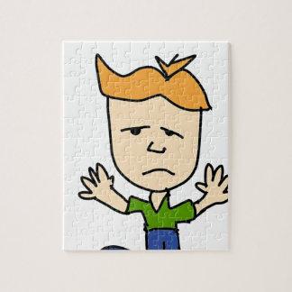 The sad boy jigsaw puzzle