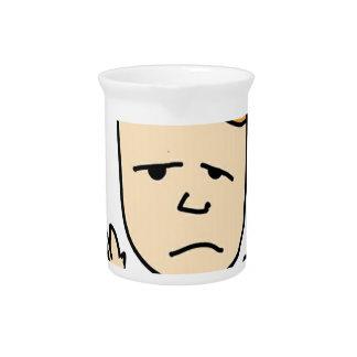 The sad boy pitcher