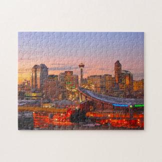 The Saddle Dome Calgary. Jigsaw Puzzle